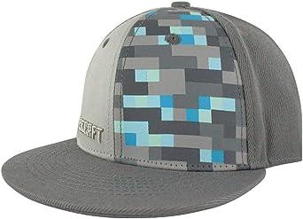 Gorra de Minecraft Premium de creación de diamantes con broche en ...