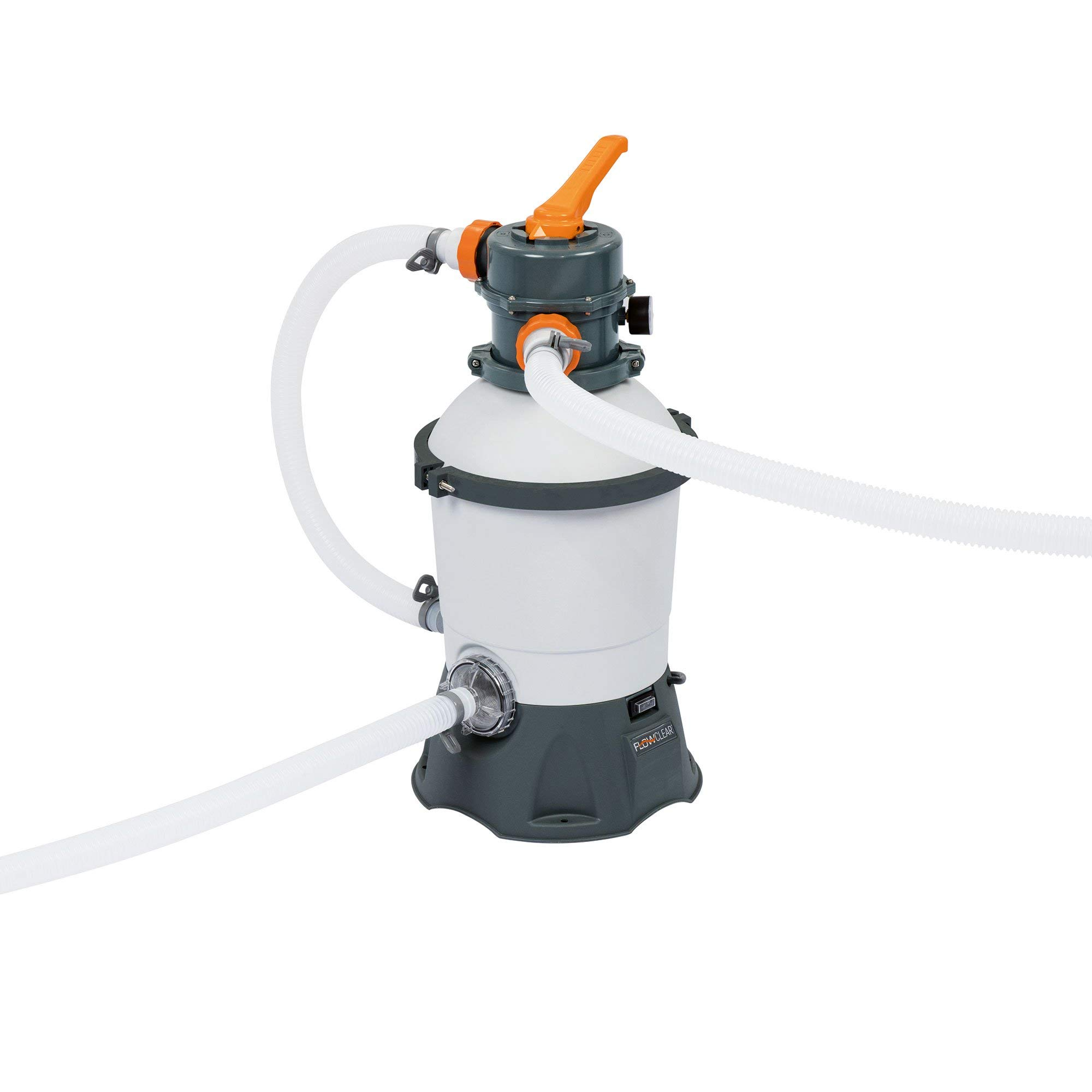 Bestway 58516E Flowclear Pool Pump, Gray by Bestway