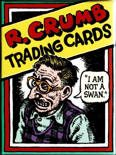 R. Crumb 36 Character Boxed Trading Card Set NEW 2010 for sale  Delivered anywhere in USA