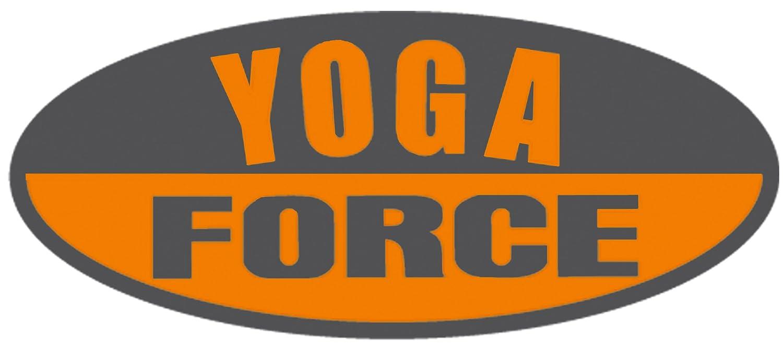 YogaForce A-Line Exercise Mat Gray Orange