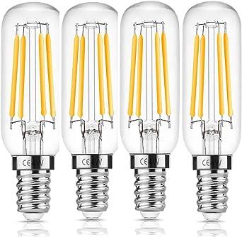 CAMORF 4W LED campana extractora bombillas T26-MADE en CHINA-4PACK: Amazon.es: Iluminación