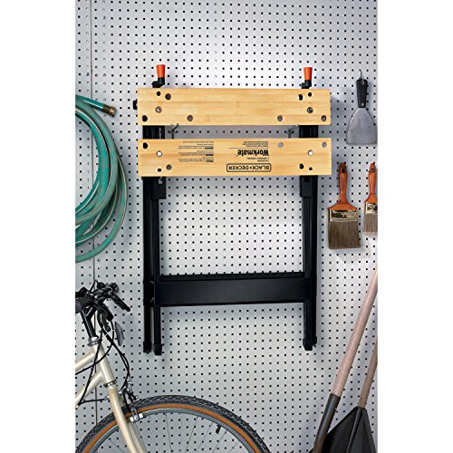 028877364858 - Black & Decker WM125 Workmate 125 350-Pound Capacity Portable Work Bench carousel main 3