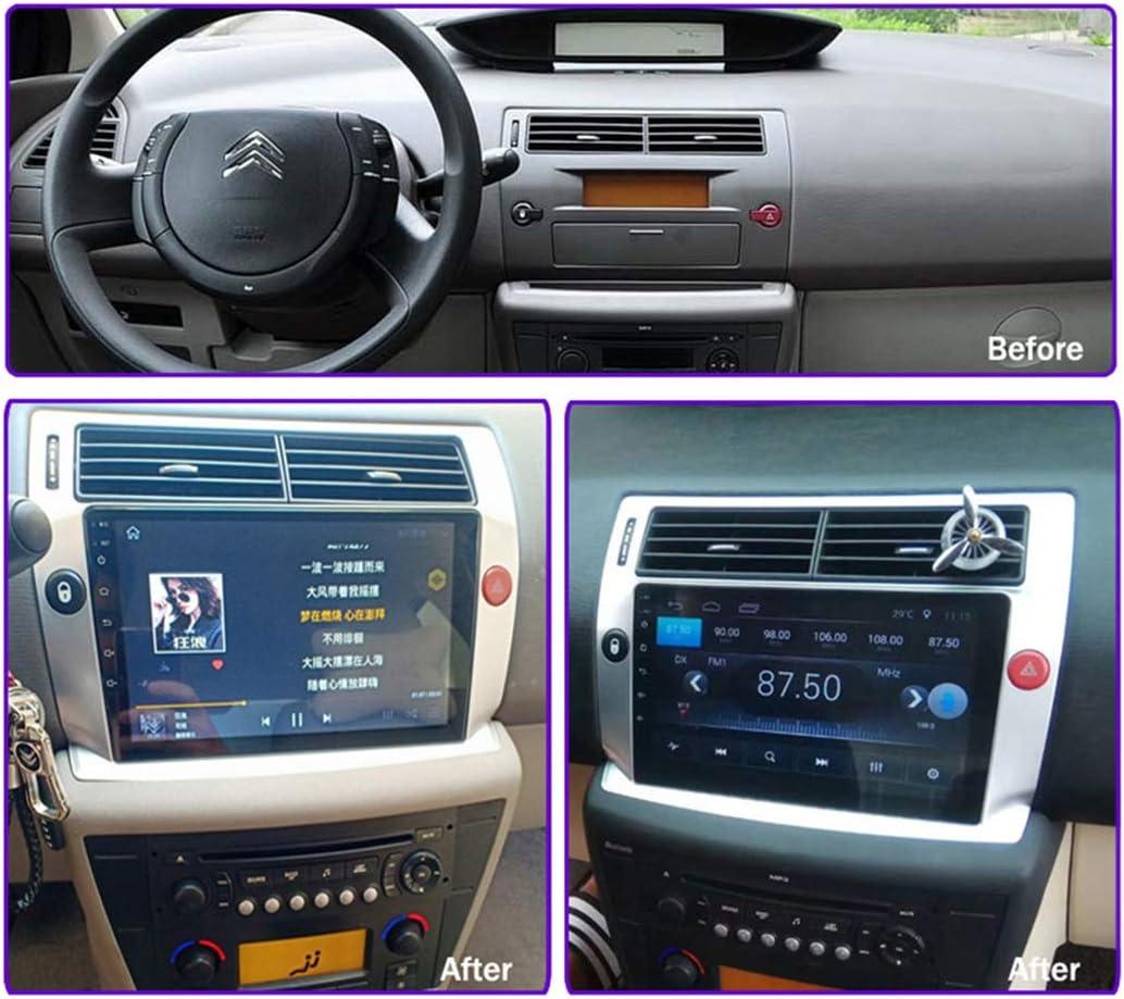 10 Zoll Android 8.1 2.5D geh/ärteter Touchscreen f/ür Citroen C4 Quatre 2004-2009 Auto-Multimedia-Player,4g+wifi 2g+32g GPS-Navigationssystem