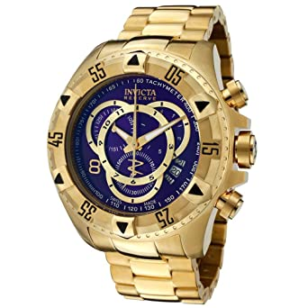Invicta Reserve Mens Excursion Touring Edition Swiss Quartz Stainless Steel Watch 6469