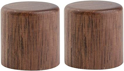 Dopro - Juego de 2 pomos de madera para guitarra, diseño de cúpula ...