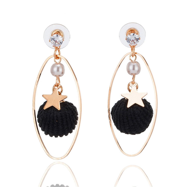57d1dcb0b80c 30% de descuento Dana Carrie Su tejido-su s Diamond Earrings estrellas taza  de agua