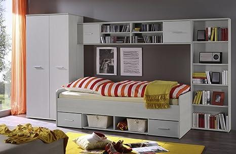 Dormitorio juvenil infantil de 4 piezas.Juego de accesorios ...