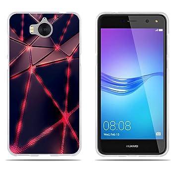DIKAS Funda Huawei Y5 2017, Carcasa Huawei Y6 2017, 3D ...
