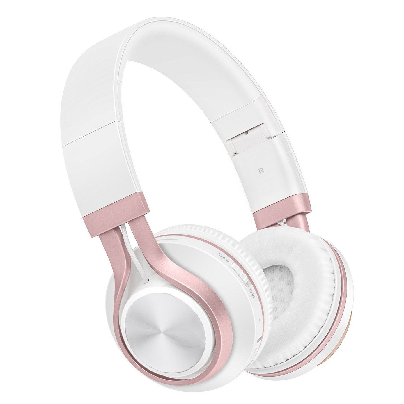 Auriculares Baseman Plegable Inalambrico Bluetooth V4.1 Over-ear Hi-fi Stereo Earphones Headsets Con Microfono Y Con Cab