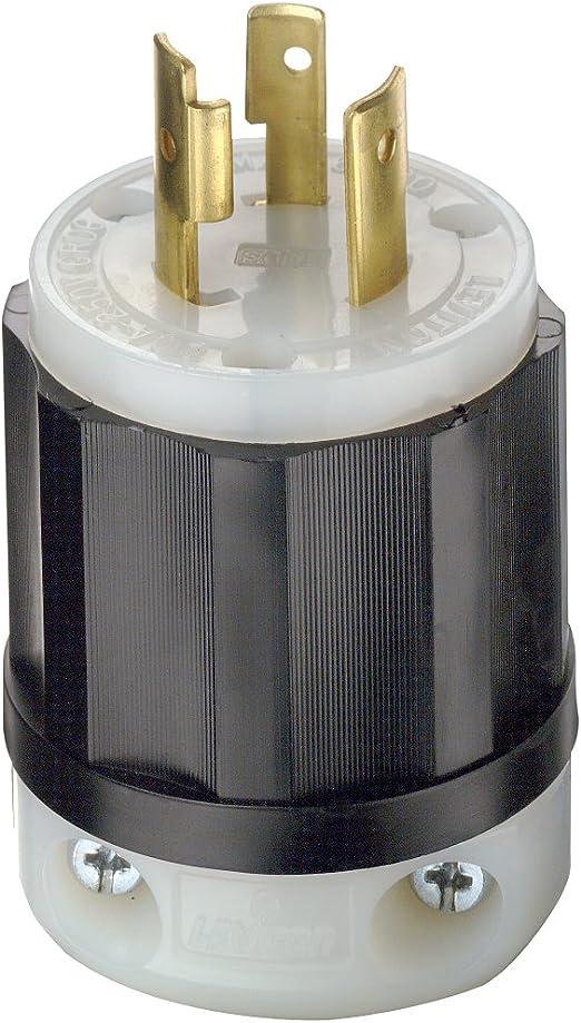 Leviton ISO GROUND Twist Turn Locking Receptacle Outlet NEMA L6-20R 20A 2320-IG