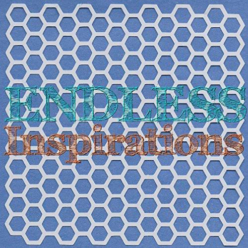 Endless Inspirations Original Stencil, 6x6 Inch, Honeycomb ()