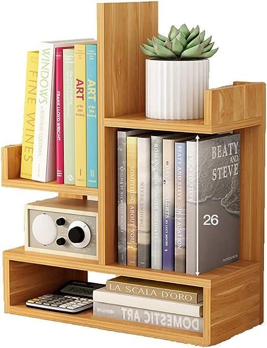 GWXJZ Estanterías para CD DVD Estantería de Mesa Simple Estantería ...