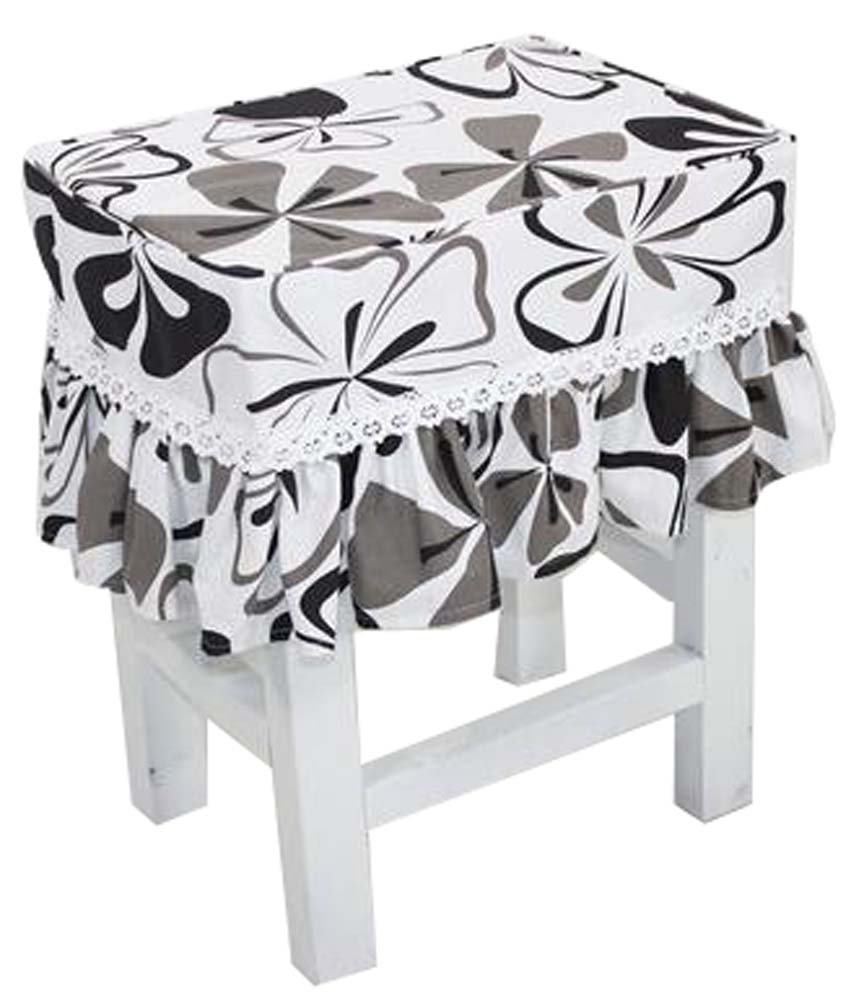 Canvas Stool Cover Makeup Stool Cover Cherry