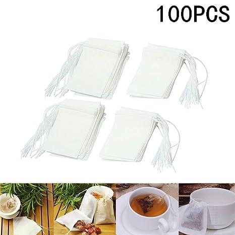 100 X milopon té para bolsas de té Filtro té Filtro ...