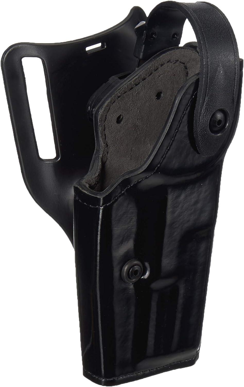 S/&W M/&P .45  w// LIGHT Safariland 6280 SLS Level 2 Duty Holster Black Gloss RH