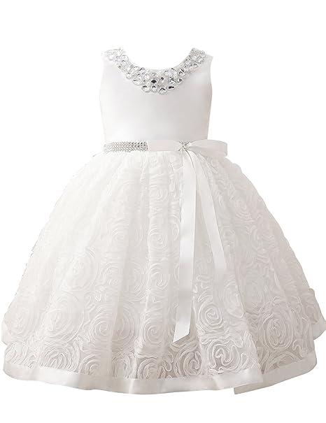 ff548fbb453c9 Erosebridal女の子 子供服 キッズ フォーマル ドレス ワンピース フ ピアノ 発表会・結婚式・