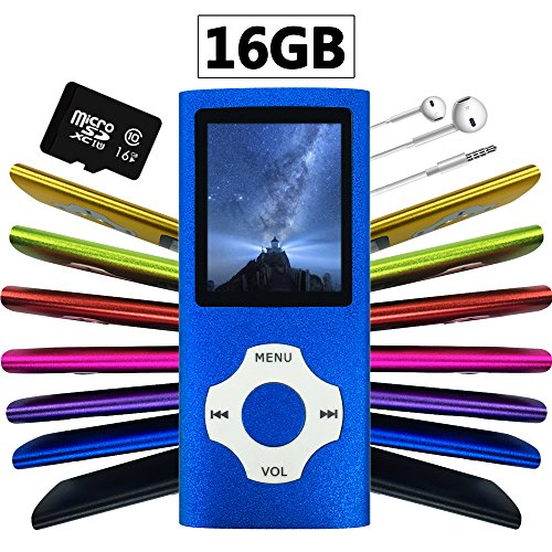 Wyne Technology Versatile & Portable 16GB Mini MP3 MP4 with