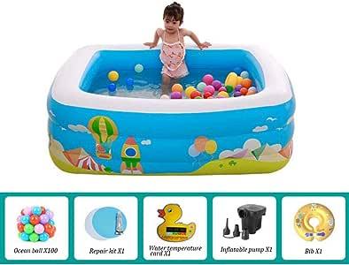 Centro de natación inflable Piscina para niños Kiddie Bebé Adultos ...