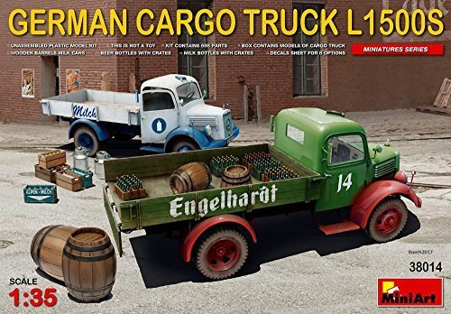 Miniart 1:35 - German Cargo Truck L1500s