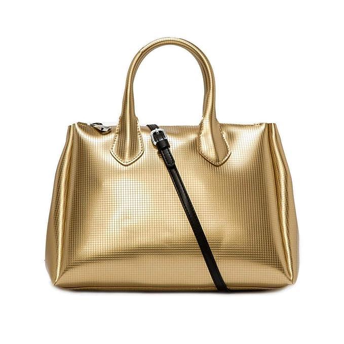 88002e5a0 GUM Gianni Chiarini Design | Borsa a Mano Fourty Media Oro |  GUM_BS1740T/19PE_0099: Amazon.it: Abbigliamento