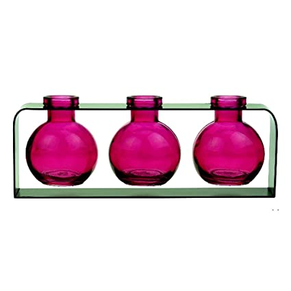 Amazon Decorative Vase Colored Glass Bottles Flower Vases