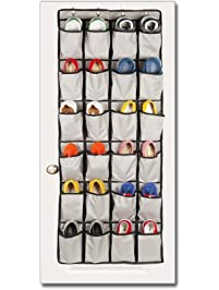 over the door shoe organizers 24 pockets and hanging closet organizer storage rack 4 customized