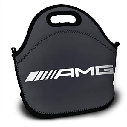 5d3fd18a236d Amazon.com - KLA2000 AMG Logo Lunch Bag Lunch Tote Bag Travel School ...
