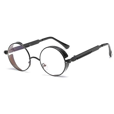 CVOO High Quality Men/Women Retro Round Metal Eyeglasses Frames Myopia Glasses Frame Optical Glasses WDE3SRoo