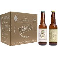 12 Pack con 6 cervezas Colimita Lager y 6 cervezas Cayaco Lager Light