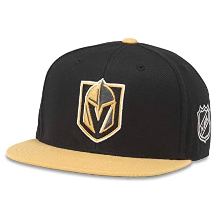 American Needle Vegas Golden Knights Blockhead 2 Adjustable Snapback Hat 96970fd42340