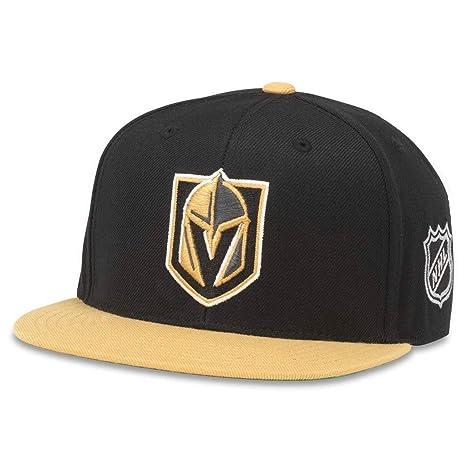 American Needle Vegas Golden Knights Blockhead 2 Adjustable Snapback Hat 0627a6d5531d