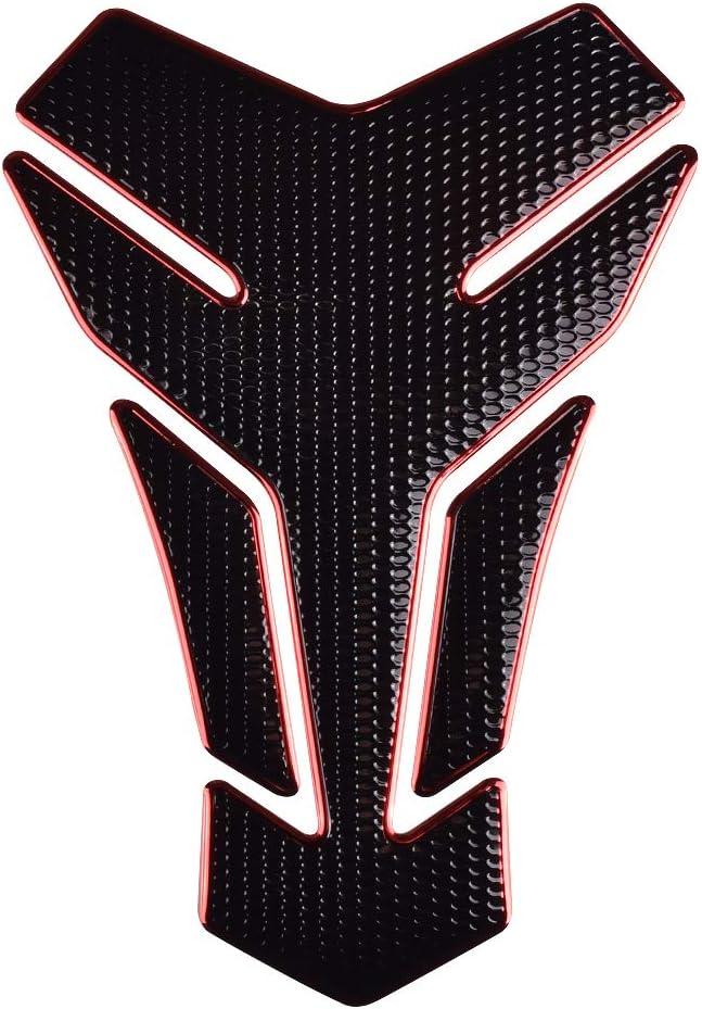 black Motorcycle Sticker Gas Tank Protector Carbon Fiber Universal for Yamaha Honda Suzuki Dukadi Triumph Aprilla