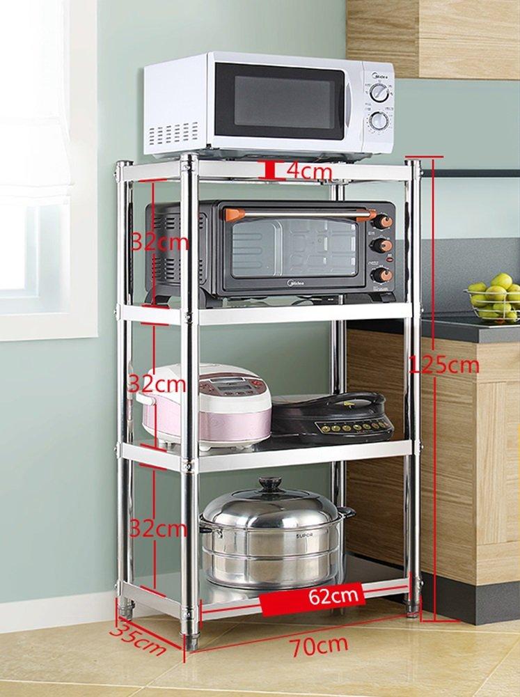 Soporte grande para microondas con armarios para tostadora ...