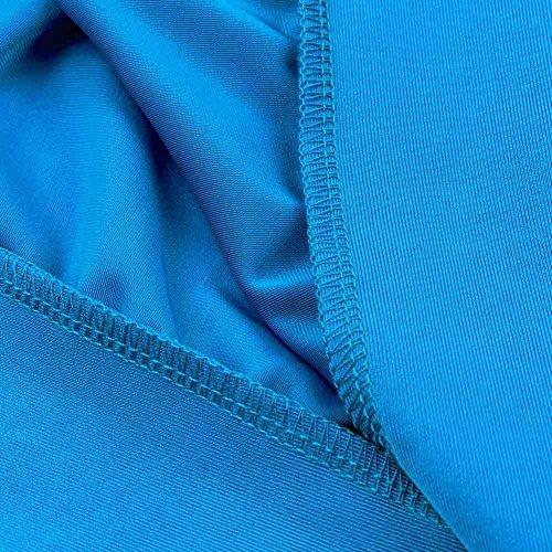 Leezeshaw - Conjunto - para mujer azul claro