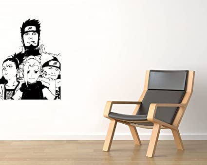 Amazon.com: Team Number Ten Vinyl Wall Decals Shikamaru Nara ...