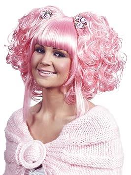 Enigma Wigs karmae peluca - rosa claro