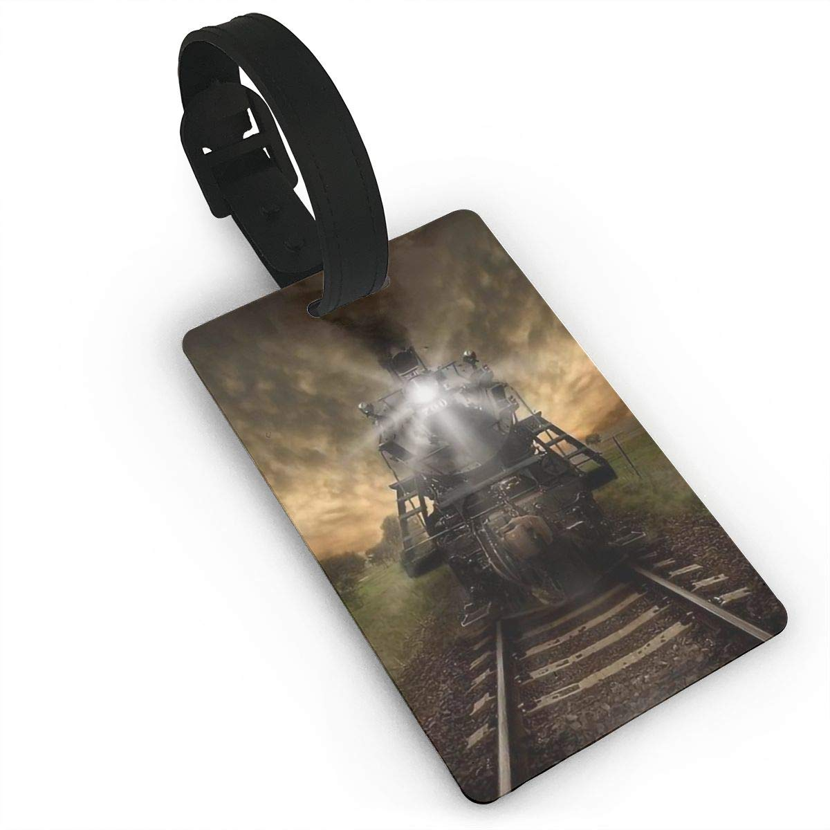 Train Handbag Tag For Suitcase Bag Accessories 2 Pack Luggage Tags