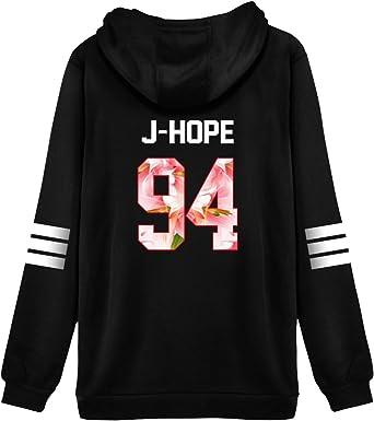 JUNG KOOK Kpop BTS Pullover Bangtan Boys J-hope Suga Jimin V Couples Sweater