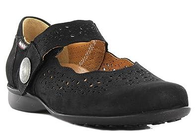commander en ligne rechercher le dernier grande vente de liquidation Mephisto Mobils Fabienne Bucksoft Black Nubuck Wide FIT Shoes Women