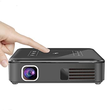 Android 7.1 Mini Bolsillo 4K DLP proyector LED, aijiwu Touch ...