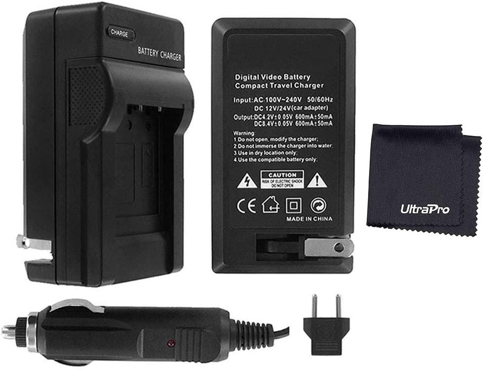 110//220v with Car /& EU adapters UltraPro Replacement Charger for Nikon MH-24 Charger UltraPro Nikon D3100 Digital Camera Battery Charger
