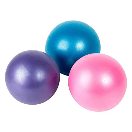 25 cm Mini Yoga Pilates pelotas Slim Body Niños Fitness bolas adulto ... 477f0b9af1be