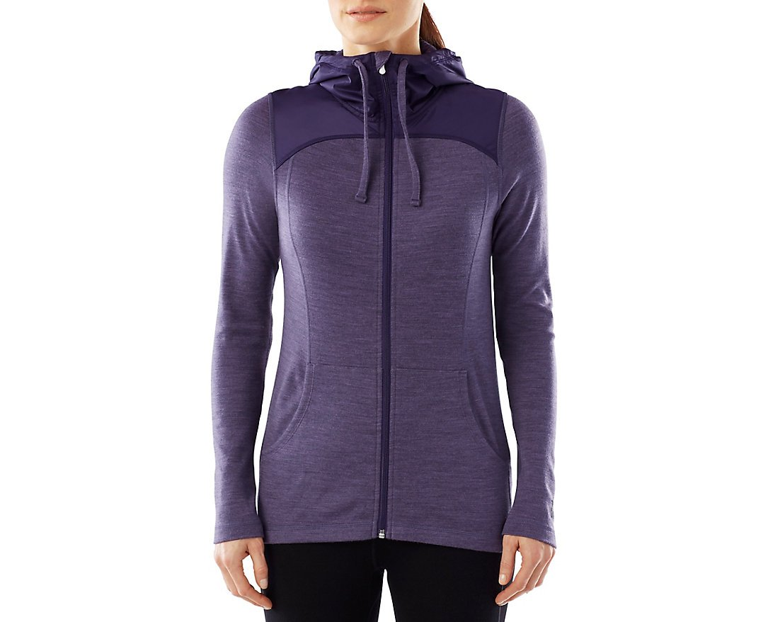 Smartwool Women's NTS Mid 250 Hoody Sport (Desert Purple Heather) Small by SmartWool