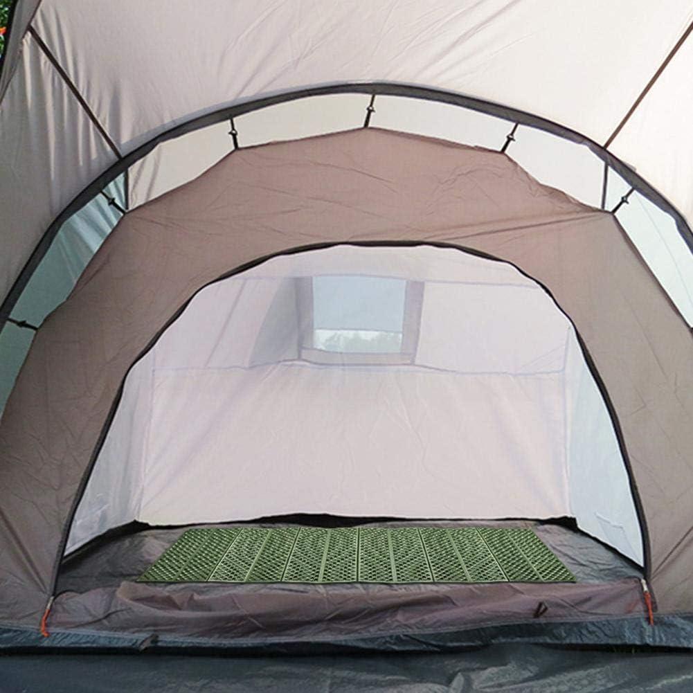 Bularyfr Coussin De Mousse Pliant Matelas De Randonn/ée L/éger Matelas /À Cellules Ferm/ées Coussin De Couchage Tapis De Camping Tapis De Couchage Ultra-l/éger pour Camping