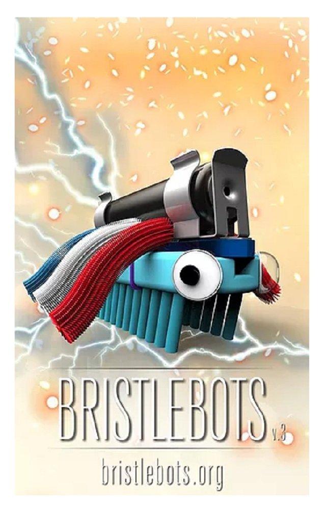 The Original Bristlebots Introductory Robotics Kit - Pack of 2, Assorted Colors by Kalani Robotics Bristlebots (Image #5)