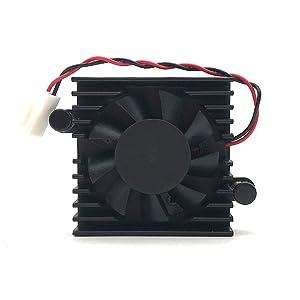 Heatsink fan for DaHua DVR Fan,HDCVI Camera Fan,DAHUA DVR 5V motherboard fan, 5V DAHUA Fan, 2Wire 2Pin Cooler Fan (shell fan)