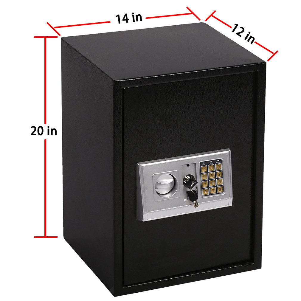Safe Box,Lock Box Electronic Safe Box,Combination Security Cabinet Digital Safe Box 1.8 CF Large for Office Home Hotel Gun Jewelry Money Safe by Best Security (Image #5)