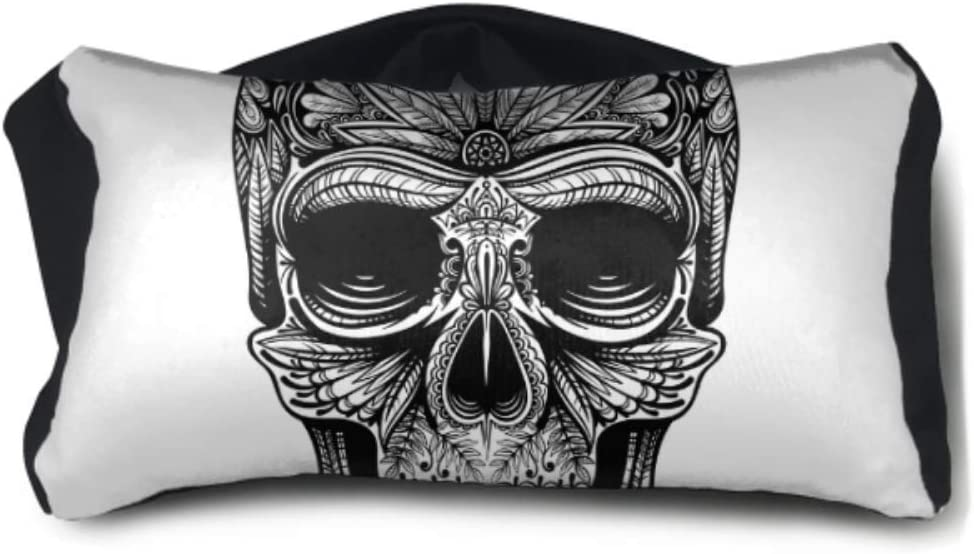 Amazon Com Libilingoo Outdoor Neck Pillow Skull Cool Bone Scary