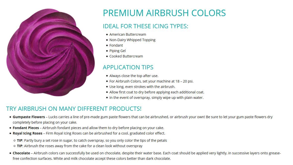 DecoPac Rose Gold Shimmer Premium Airbrush Color
