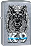 Police K-9 Zippo Outdoor Indoor Windproof Lighter Free Custom Personalized Engraved Message Engraving on Backside